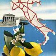 Italy Poster by Georgia Fowler