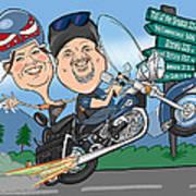 Jaime Caricature Poster by Chris Berg