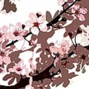 Japanese Blossom  Poster by Sarah O Toole