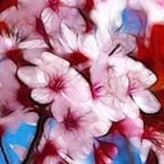 Japanese Flower Poster by Stefan Kuhn