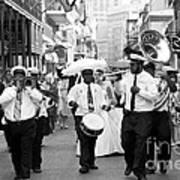Jazz Wedding Poster by Leslie Leda