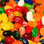 Jelly Belly - Painterly Poster by Wingsdomain Art and Photography