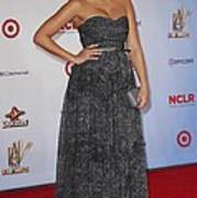 Jessica Alba Wearing A Dress By Michael Poster by Everett