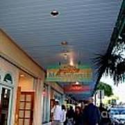 Jimmy Buffet's Margaritaville Key West Poster by Susanne Van Hulst