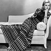Joan Bennett, Paramount Pictures Poster by Everett
