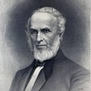 John Greenleaf Whittier 1807-1892 Poster by Everett