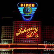 Johnny D's Poster by Guy Harnett