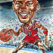 Jordan Poster by Tom Hedderich