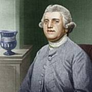 Josiah Wedgwood, British Industrialist Poster by Sheila Terry