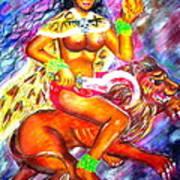 Kali Goddess Poster by Sri Mala