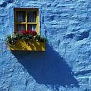 Kinsale, Co Cork, Ireland Cottage Window Poster by The Irish Image Collection