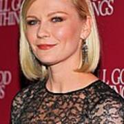 Kirsten Dunst  Wearing Fred Leighton Poster by Everett