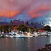 Lahaina Harbor Poster by James Roemmling