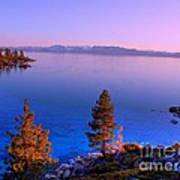 Lake Tahoe Serenity Poster by Scott McGuire