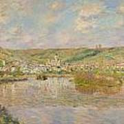Late Afternoon - Vetheuil Poster by Claude Monet