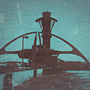 LAX Poster by Naxart Studio