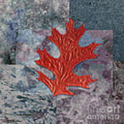 Leaf Life 01 - T01b Poster by Variance Collections