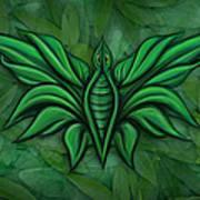 Leafy Bug Poster by David Kyte