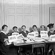 League Of Women Voters Poster by Granger