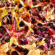 Leaves Of Glass Poster by Marilyn Sholin