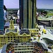 Legoland Dallas I Poster by Ricky Barnard