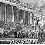 Lincolns Inauguration, 1861 Poster by Granger