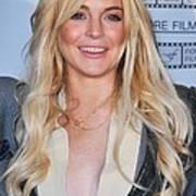 Lindsay Lohan In Attendance For Gotti Poster by Everett