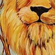 Lion Of Judah Poster by Diana Kaye Obe