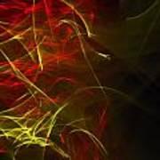Liquid Saphire 20 Poster by Cyryn Fyrcyd