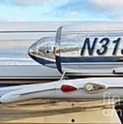 Lockheed Jet Star Engine Poster by Lynda Dawson-Youngclaus