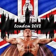 London 2012 Poster by Sharon Lisa Clarke