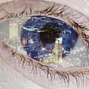 London Eye Poster by Alice Gosling