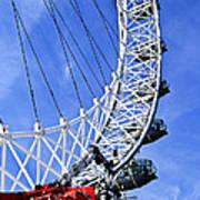 London Eye Poster by Elena Elisseeva