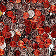 Loose Change . 2 To 1 Proportion Poster by Wingsdomain Art and Photography