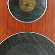 Loudspeaker Poster by Luigi Masella