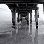 Low Tide Poster by Tim Nichols