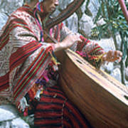 Lute Player Poster by Photo Researchers, Inc.