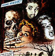 Macabre, 1958 Poster by Everett