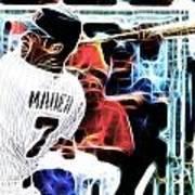 Magical Joe Mauer Poster by Paul Van Scott