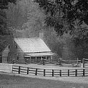 Mariah Wright House Appomattox Virginia Poster by Teresa Mucha