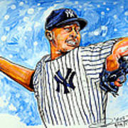 Mariano Rivera Poster by Dave Olsen