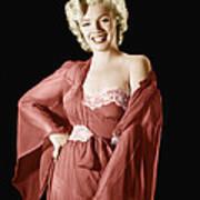 Marilyn Monroe, 1950s Poster by Everett