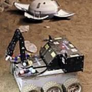 Mars Rover Testing Poster by Ria Novosti