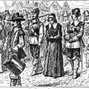 Mary Dyer, D.1660 Poster by Granger