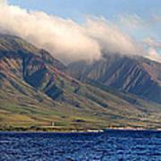 Maui Pano Poster by Scott Pellegrin