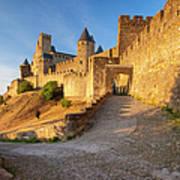 Medieval Carcassonne Poster by Brian Jannsen
