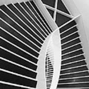 Meet Me Under The Stairs Poster by Anna Villarreal Garbis