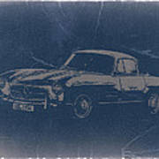 Mercedes Benz 300 Sl Poster by Naxart Studio