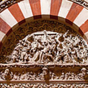 Mezquita Cathedral Religious Carving Poster by Artur Bogacki