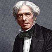 Michael Faraday, English Chemist Poster by Sheila Terry